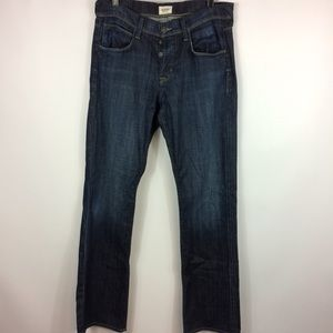 Hudson Dark Wash Mens Jeans Size 32 Straight Leg